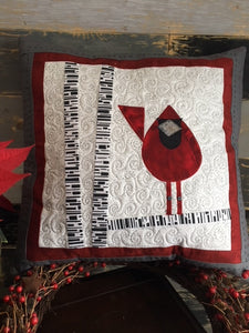 The Quilted Cardinal