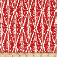 Ashton Road - Robert Kaufman - Fern Stripe in Poppy