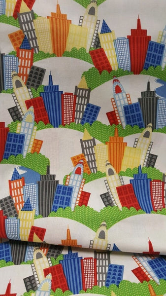 Big City Friends - Wilmington Fabrics - Buildings