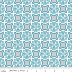 Rosecliff Manor - Riley Blake - Medallion in Teal