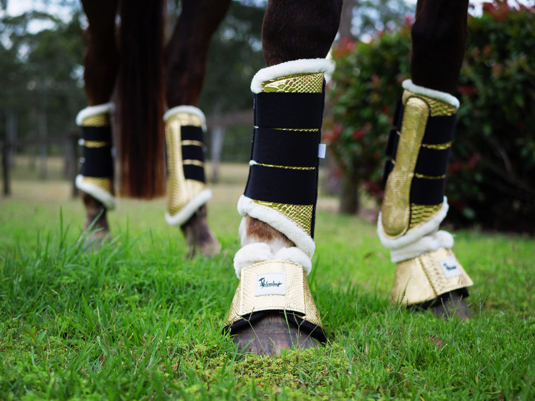 Golden Hour Tendon Boots - Limited Edition