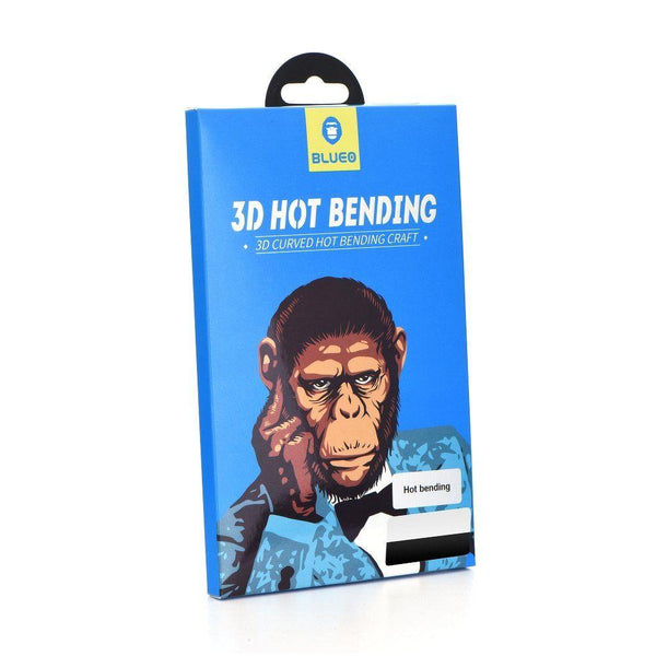 Стъклен протектор 3d hot bending mr. monkey за galaxy note 10 plus черен - Note10Plus