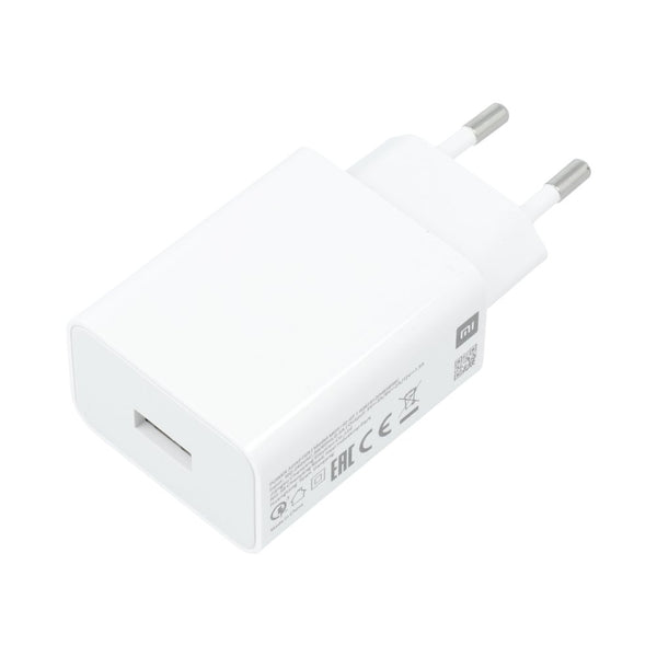 Original wall charger xiaomi mdy-10-ef (head only) super fast charger 3a white bulk