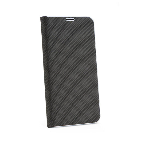 Husa Tip Carte Luna Carbon - apple iPhone 6 negru