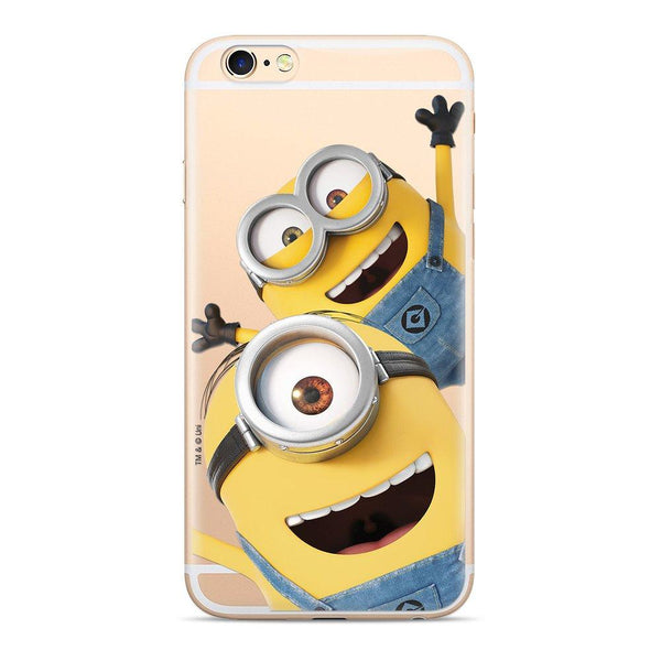 Силиконов гръб licence iphone 6 / 6s minions 015 - Iphone6S, new