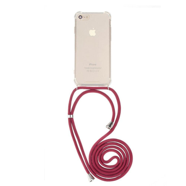 Forcell cord гръб за iphone 6 plus / 6s plus червен - Iphone6Plus, new