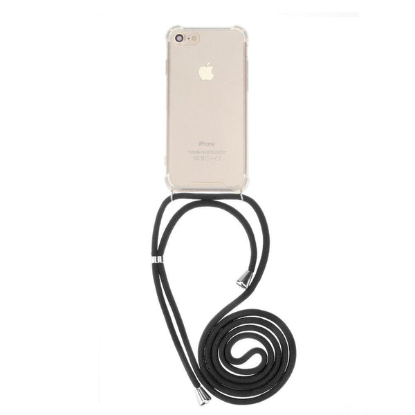 Forcell cord гръб за iphone 6 plus / 6s plus черен - Iphone6Plus, new