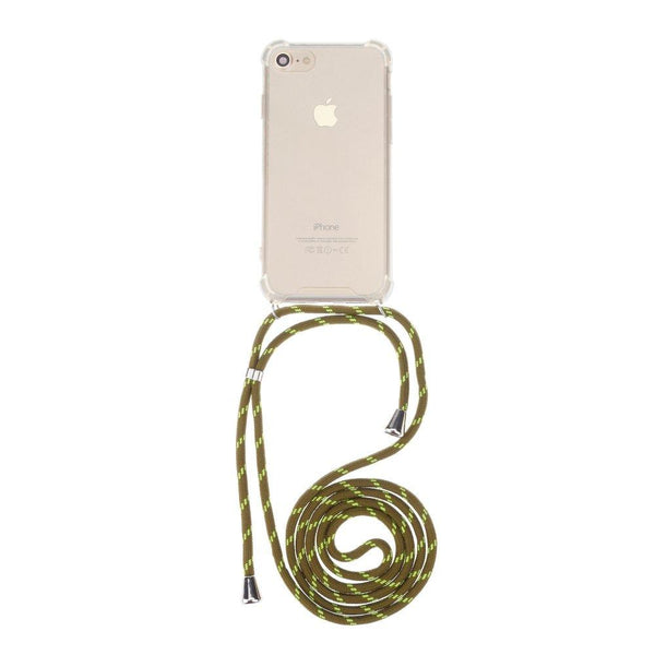 Forcell cord гръб за iphone 7 plus / 8 plus зелен - Iphone7Plus, Iphone8Plus, new