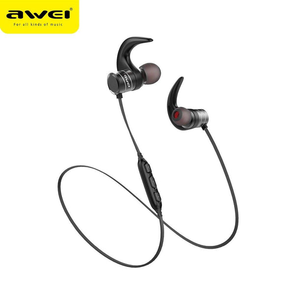 Wirelles блутут/bluetooth слушалки awei ak1 черен - BlueTooth, earphones, new