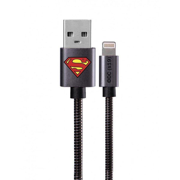 кабел working with lightning licence superman златен 002 - cable, new