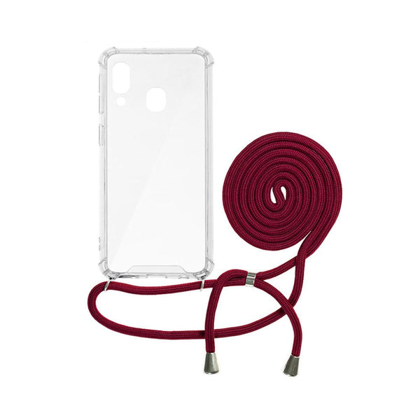 Forcell cord гръб - Samsung a30 червен - a30