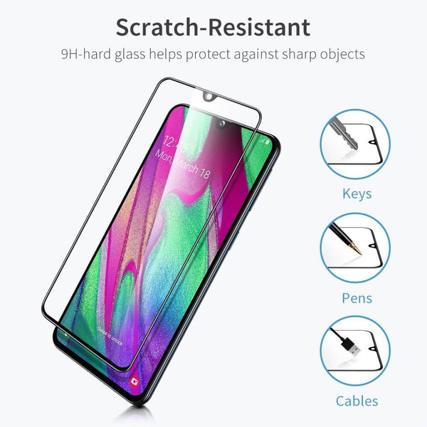 Esr full coverage sticla securizata samsung galaxy a40 - 2 pachete