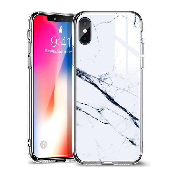 Esr mimic - marble гръб iphone x / xs max бял - IphoneX, IphoneXsMax