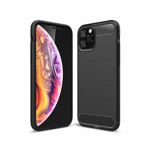 "Husa Forcell Carbon - iPhone 11 Pro 2019 ( 5,8"" ) negru"