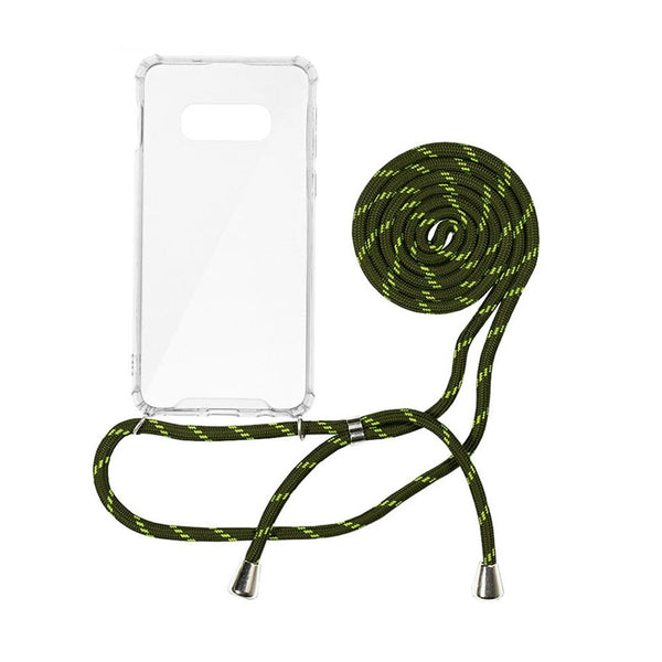 Forcell cord гръб - samsung s10e / s10 lite зелена - S10Lite