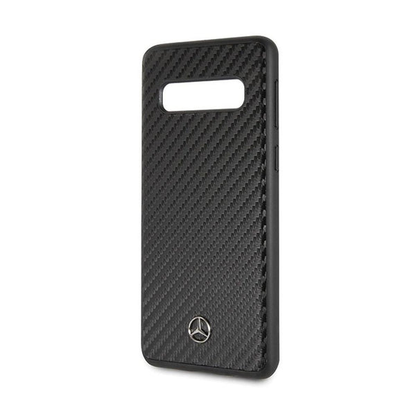 Husa Original Faceplate Mercedes MEHCS10PSRCFBK - - iPhone S10 Plus negru