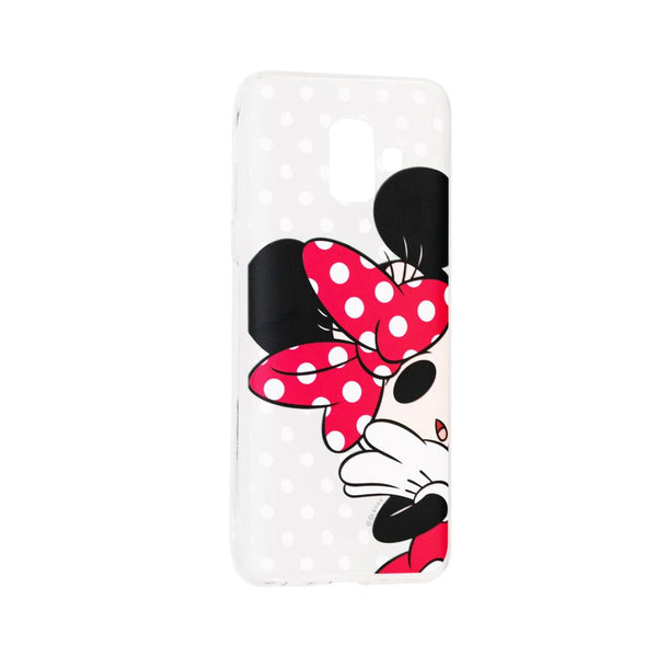 Силиконов гръб licence samsung galaxy j6+ ( j6 plus ) minnie mouse - j6plus