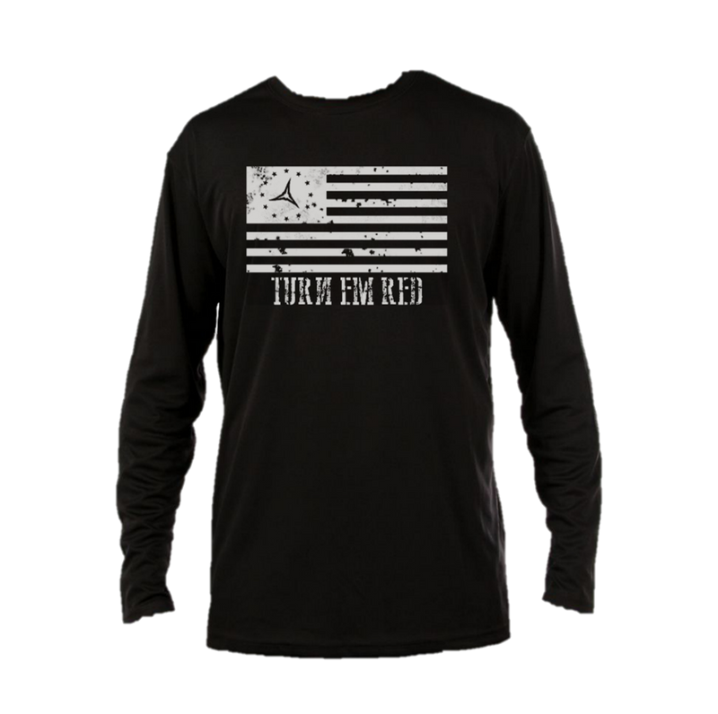 Signature Logo Long Sleeve Performance Shirt