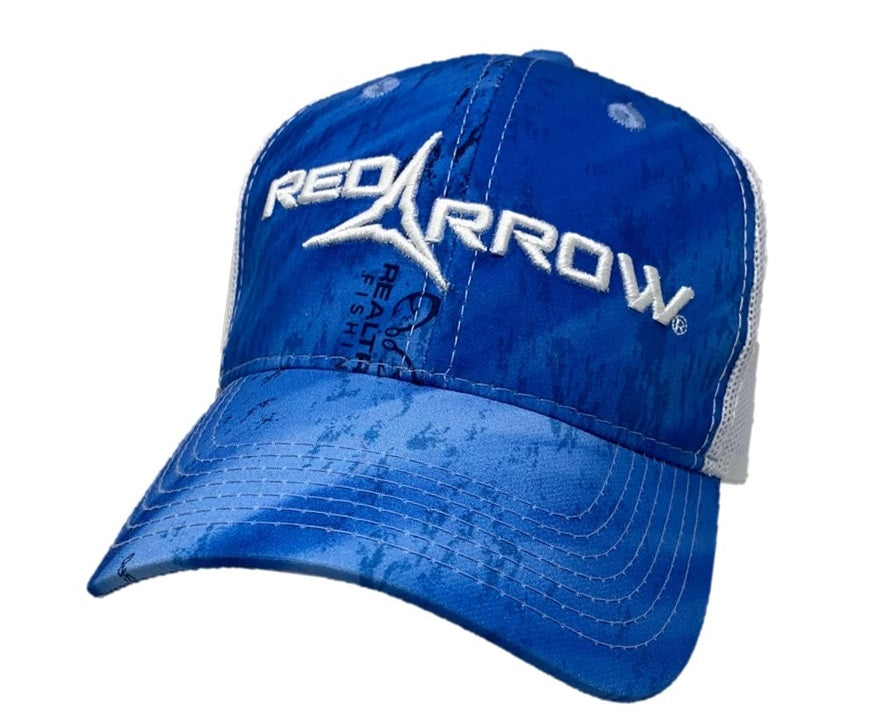 Realtree Fishing Red Arrow Hat