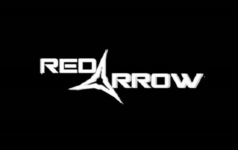 Red Arrow Logo Decal 4 x 11