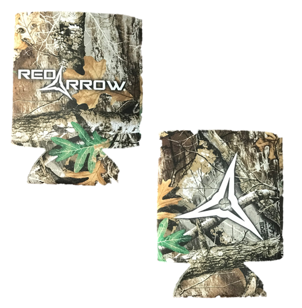 Realtree Red Arrow Koozie