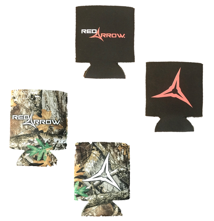 Red Arrow Koozie Pack