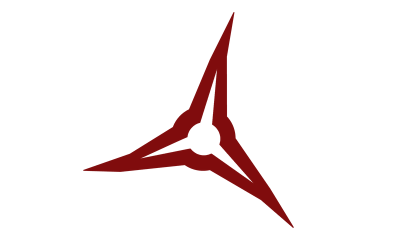 Red Arrow Broadhead Logo 4x4 Decal