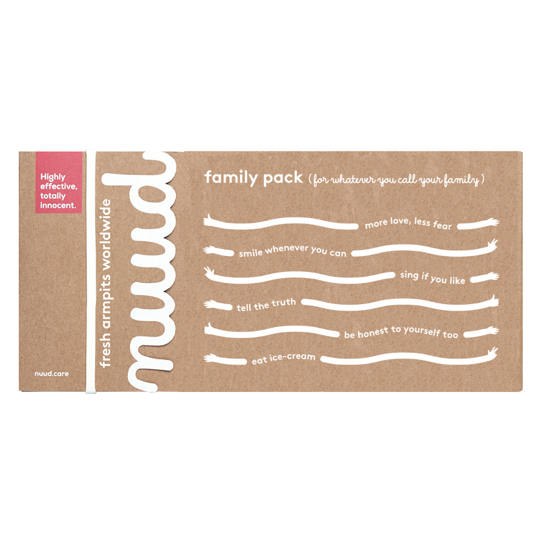 nuud family pack