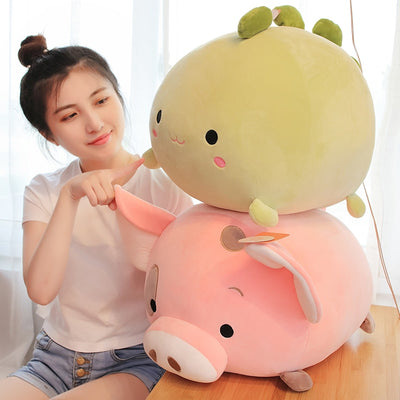 Kawaii Animals Sweet Fat Plush