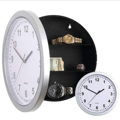 Classic Wall Clock Safe