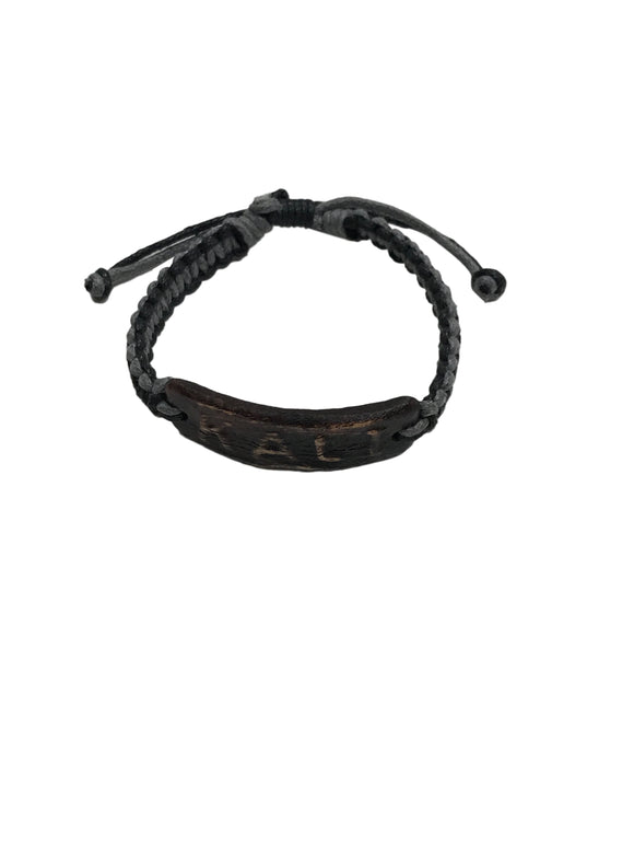 Handmade Leather KALI Adjustable Wristband