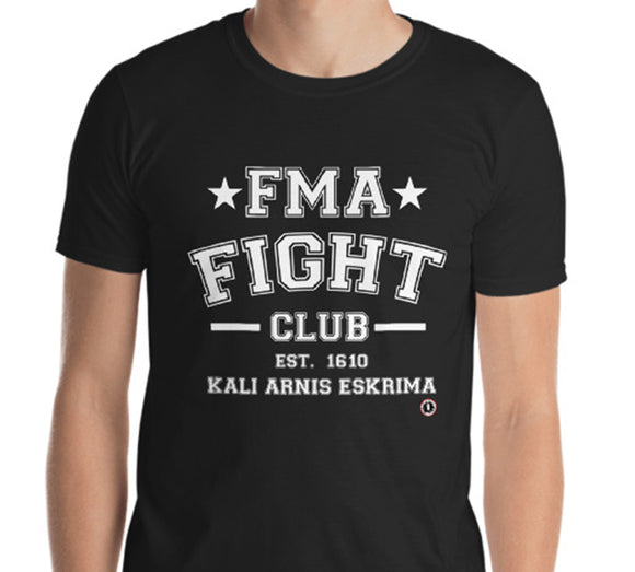 AT0800A  Filipino Martial Arts FMA Fight Club T- Shirt