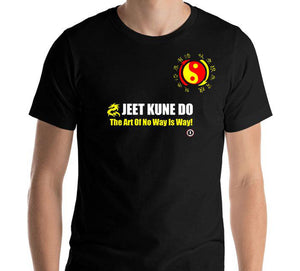 AT1000A  Jeet Kune Do 'Art of No Way Is Way' T-Shirt Black