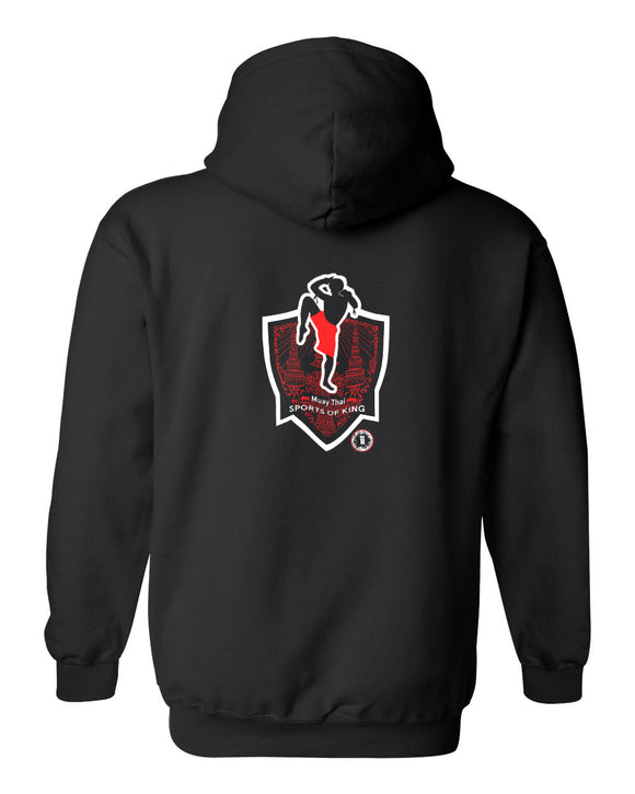 AT1305A Muay Thai Kickboxing 'Sport of Kings' Hoodie