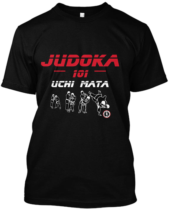 AT2200A Judoka 101 Uchi Mata T-Shirt