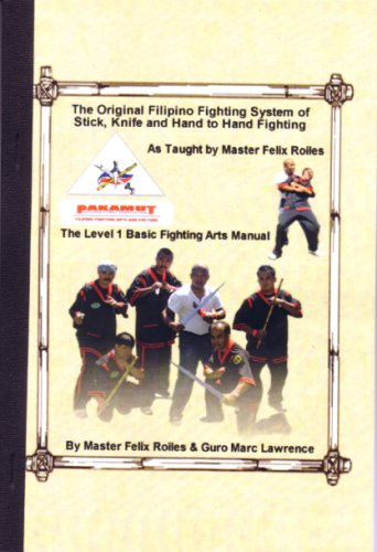 Pakamut Original Filipino Fighting System Stick Knife Hand Combat Level 1 Book Marc Lawrence