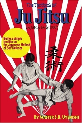 Textbook Of Ju Jitsu Early 1900s Japan Book By Prof. Uyenishi