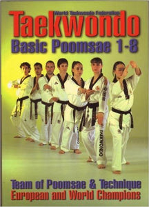 Tae Kwon Do Basic Poomsae 1-8 Book By Castellanos & Tucci