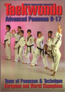 Tae Kwon Do Advanced Poomsae 9-17 Book By Castellanos & Tucci