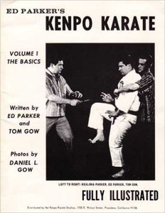 Ed Parker Kenpo Karate #1 Basics Book