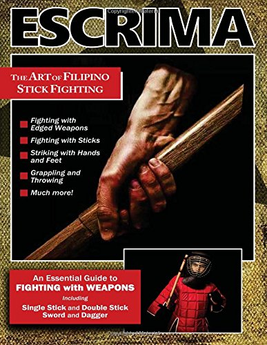 Escrima Art of Filipino Stick Fighting Book Rene Latosa