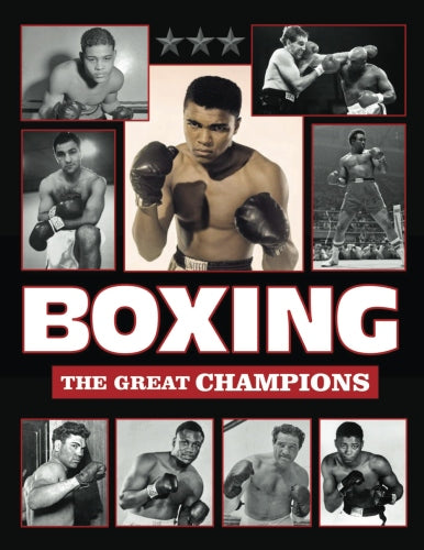 Boxing The Great Champions 1700s - 1970s Book Gilbert Odd Marciano Liston Ali