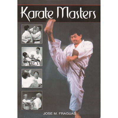 Karate Masters Book Jose Fraguas