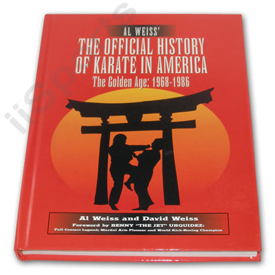 Official History of Karate Hardcover Book - Al Weiss