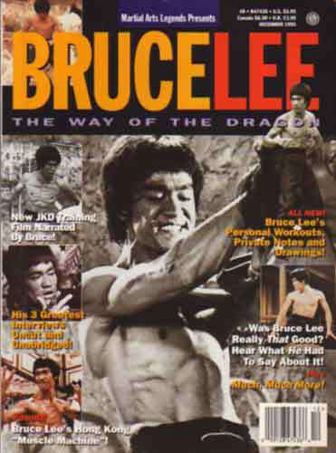 Bruce Lee Martial Arts Legends Magazine 12-95 Rare Collectible jeet kune do