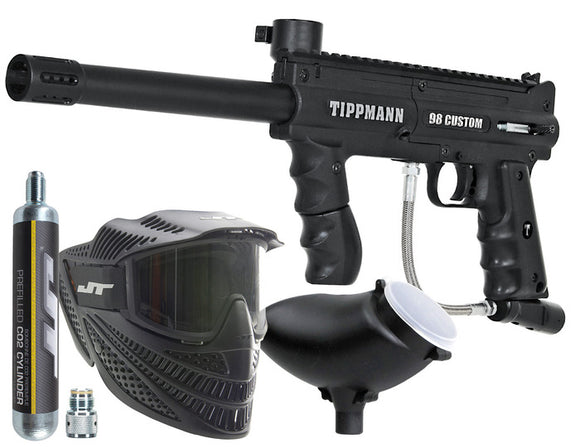 Tippmann 98 Custom Paintball Gun Set