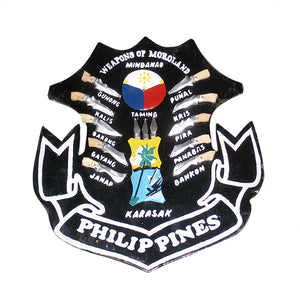 Filipino Plaque: Weapons of Moroland Philippines SMALL