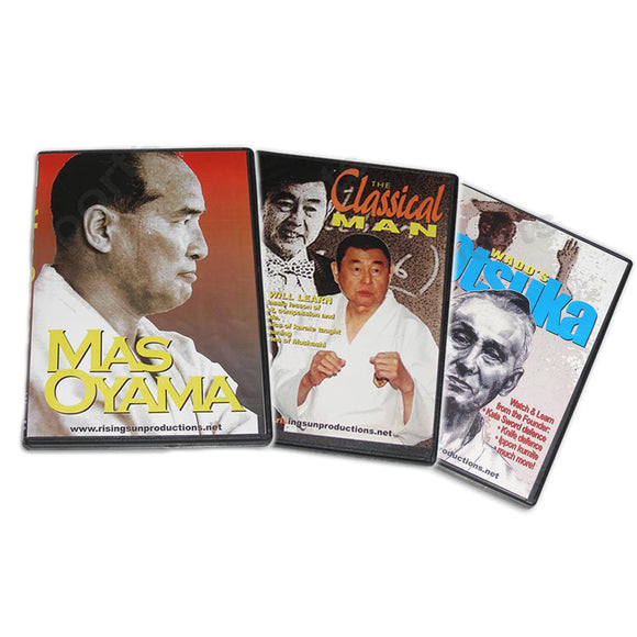 Japanese Karate Masters 3 DVD Set