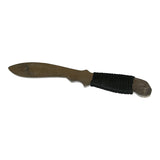Aluminum Practice Dull Large Single Edge Knife