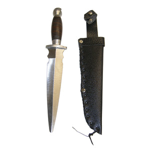 "13"" Metal Practice Dull Straight Dagger 8"" Blade"